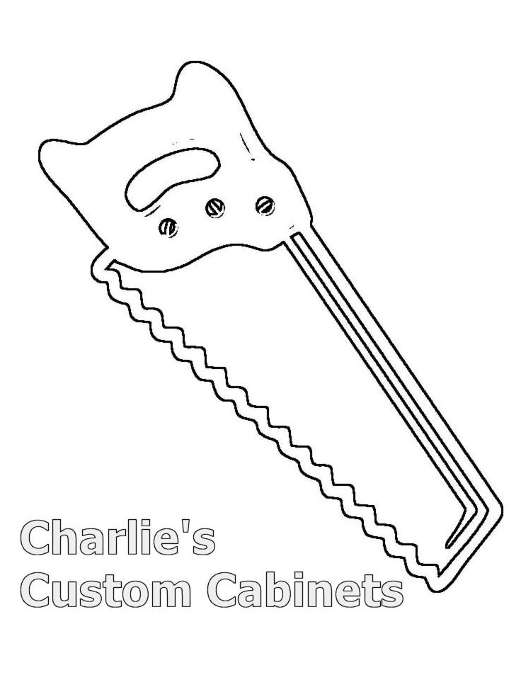 Free Coloring Pages Of Saw Hammer